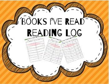 Books I've Read--Reading Log