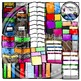 Book Clipart, Notebook Clipart, and Folders Clipart (School Clipart)