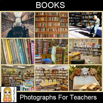 Books Photograph Pack