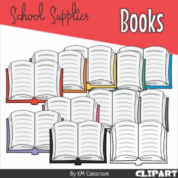 Books Rainbow Clip Art