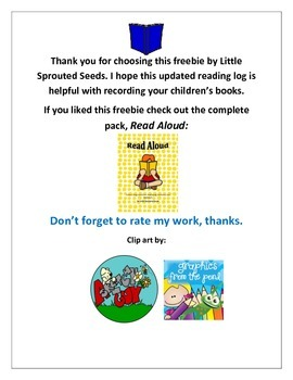 Read Aloud, Worksheet