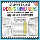 Books Read Lists - My Personal Book List, Book Wish List & Class Book List