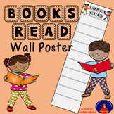 Books Read Wall Poster