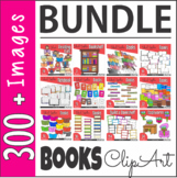 Books Reading Back to School ClipArt BUNDLE