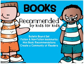 Books Recommended by Kids for Kids