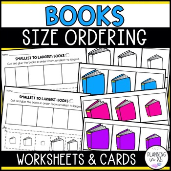 Books Size Ordering (From Smallest to Largest)