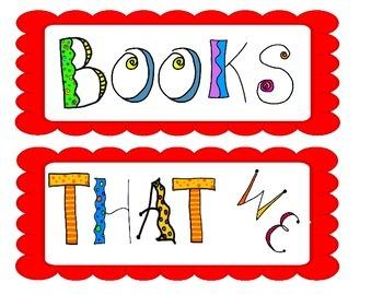 Books We Have Read  caption