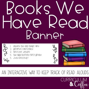 Books We Read Banner