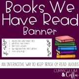 Books We Read Banner