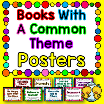 Books With a Common Theme Posters