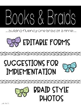 Books and Braids Letters, Sign Up, and Permission Slip