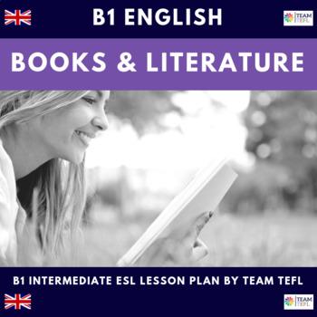 Books and Literature B1 Intermediate Lesson Plan For ESL