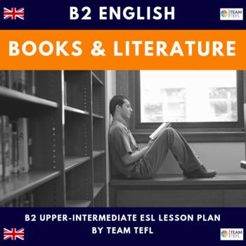 Books and Literature B2 Upper-Intermediate Lesson Plan For ESL