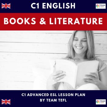 Books and Literature C1 Advanced Lesson Plan For ESL