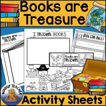 Books are Treasure Activity Sheet * Book Care *