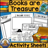 Books are Treasure Activity Sheet * Book Care *