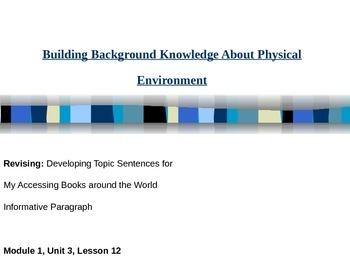 Books around the world informative paragraph (EL cur. M1, U3, L12)