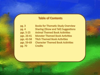 Pat Hutchins' Books Thematic Literacy Unit Incorporates Common Core Standards