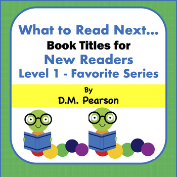 Books for New Readers Level 1-Favorite Series, 3K, 4K, K, 1