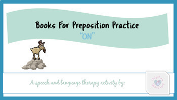 Books for Preposition Practice: On/ On Top