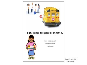 Books for the new school year    My First I Can Book      I Love School!
