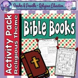 Books of The Bible: Catholic  Activity Pack for The Old an