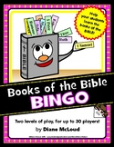 Books of the Bible Bingo - for up to 30 players in two lev