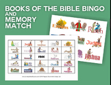 Books of the Bible: Bingo & Memory Match Game | NT/OT Mixed