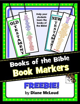 Books of the Bible Book Markers