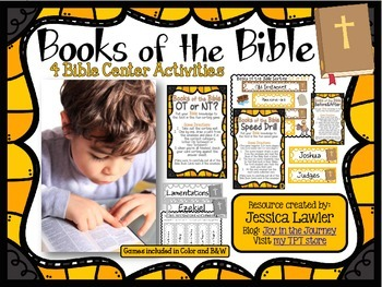 Books of the Bible Center Games