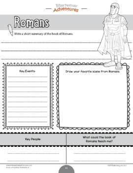 Books of the Bible Coloring Activity Book