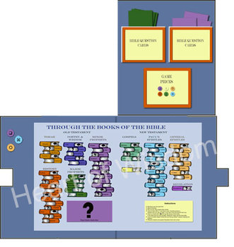 Books of the Bible File Folder Game