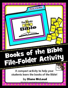 Books of the Bible File-Folder Game Kit