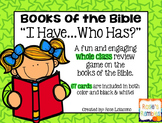 """Books of the Bible """"I have...who has?"""""""