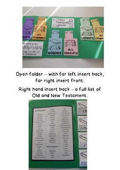 Books of the Bible Lapbook