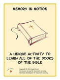 Books of the Bible Memorization Activity Memory in Motion