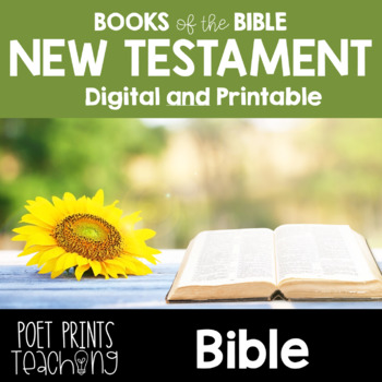 Books of the Bible, New Testament, Google Classroom