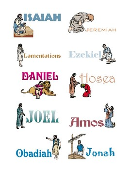 Books of the Bible: Old Testament Flashcards