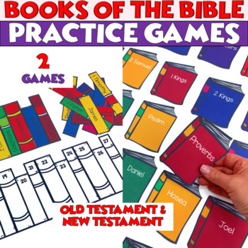 Books of the Bible - Old Testament and New Testament - 2 Activities