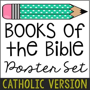 Books of the Bible Poster Set, Study Notes, Catholic Version {FREEBIE!}