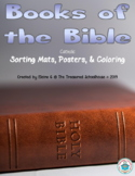Books of the Bible Sort, Coloring, and Posters - Catholic