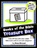 Books of the Bible Treasure Box—DIY Craft to teach the Boo