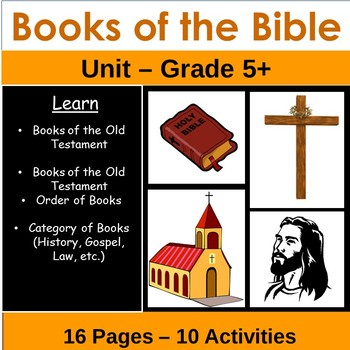 Books of the Bible Unit