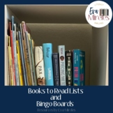 Books to Read Lists and Bingo Boards