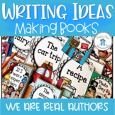 Writing Prompts for Shared or Individual Books