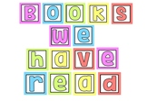 Books we have read - Display Banner