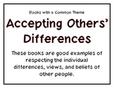 Books with Common Themes Posters