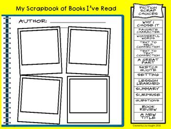 Bookscrapping: A Readers' Workshop Scrapbook