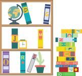 Bookshelf ABC Fun