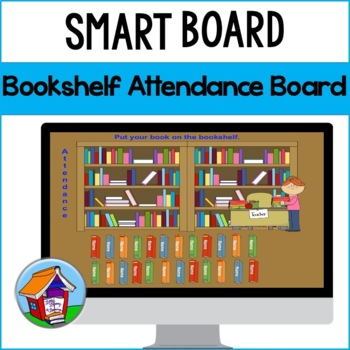 Bookshelf Attendance Board